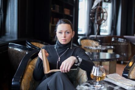 Portrait pour Carole Corriveau, artiste