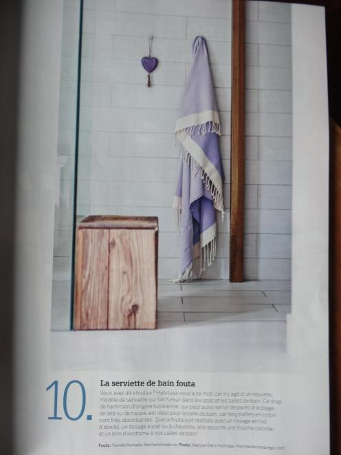 De mon travail dans le magazine Je Décore