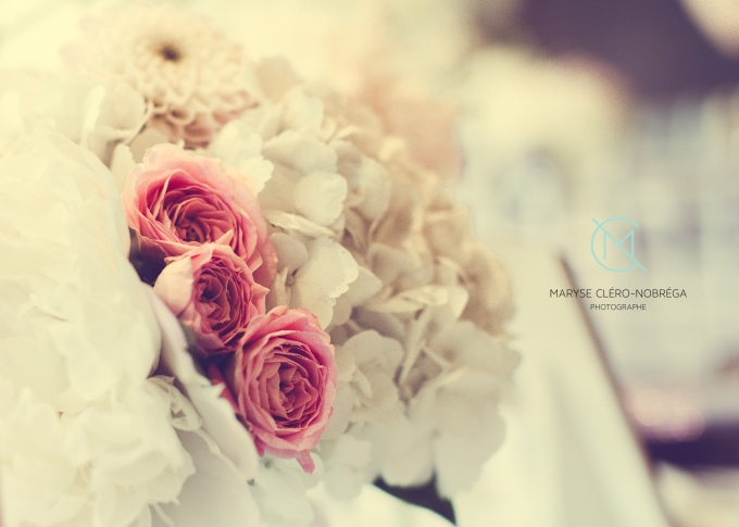 Fleurs, mariage Caroline P.